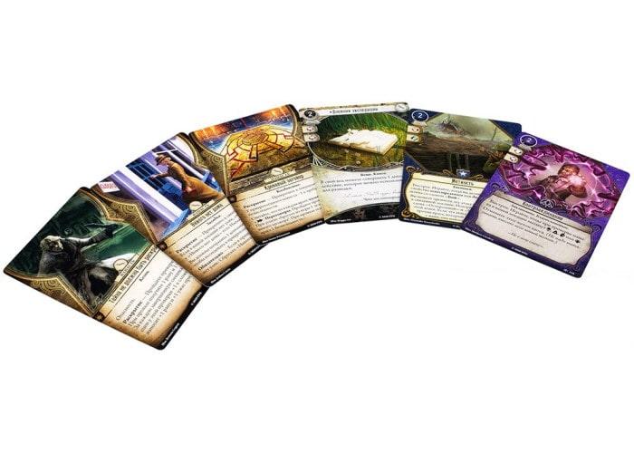 Ужас Аркхэма. Карточная игра: Забытая Эпоха. Нити судьбы (Arkham Horror: The Card Game – The Forgotten Age, Threads of Fate)
