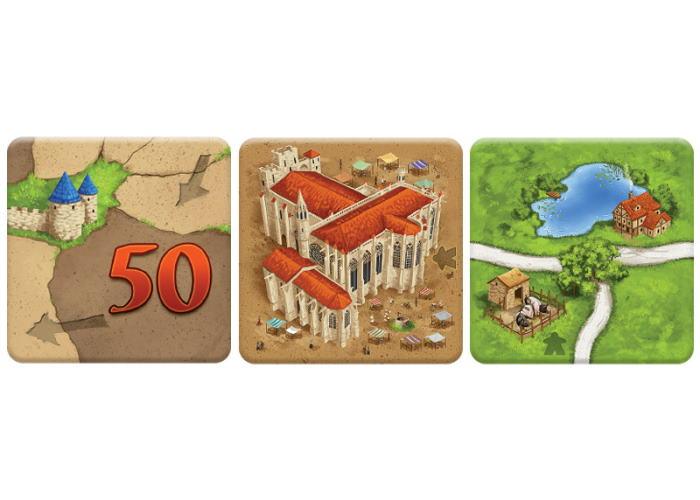 Каркассон: Купцы и зодчие (Carcassonne: Traders & Builders)