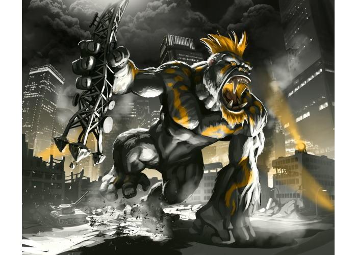 Повелитель Токио. Тёмное Издание (King of Tokyo. Dark Edition)