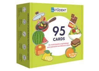 Карточки для изучения английского языка согласно программе МОН English Student. Здоровое питание + аудио (укр.)