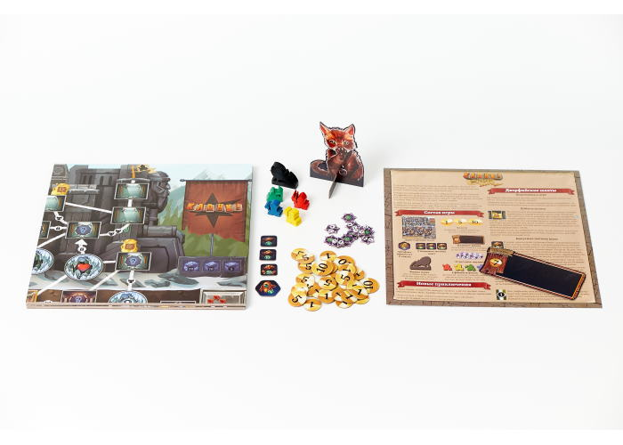 Кланк! Экспедиции: Золото и шёлк (Clank! Expeditions: Gold and Silk)