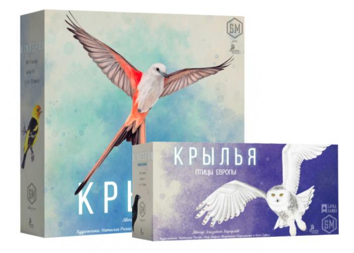 Крылья с дополнением Птицы Европы