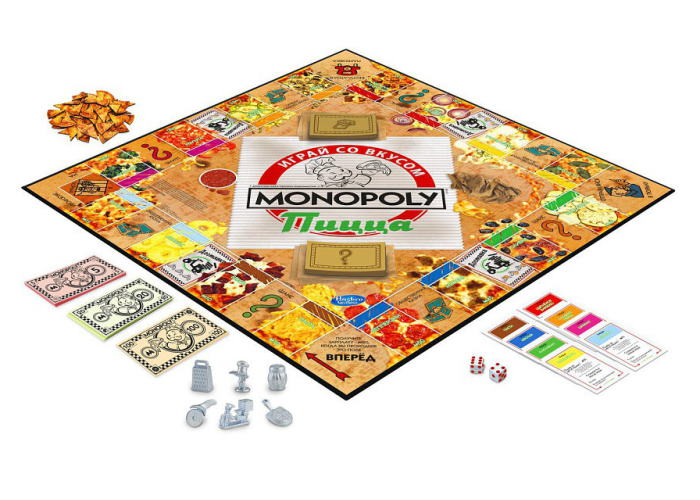 Монополия: Пицца (Monopoly Pizza Game)