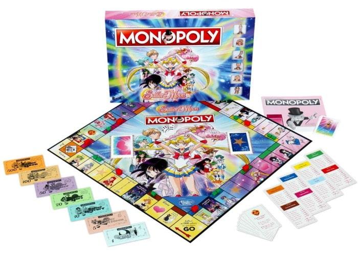 Монополия: Сейлор Мун (Monopoly Sailor Moon)