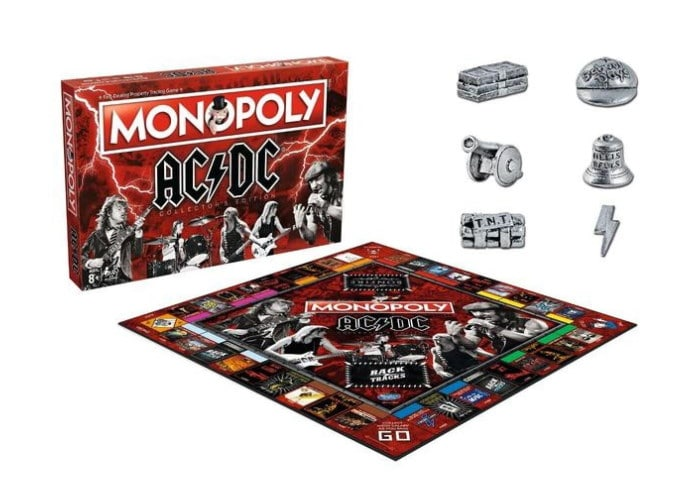 Монополия: AC/DC (Monopoly AC/DC Collector's Edition)