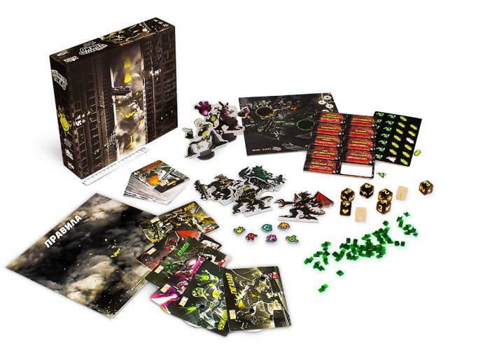 Повелитель Токио. Тёмное Издание (King of Tokyo. Dark Edition) (рус.)