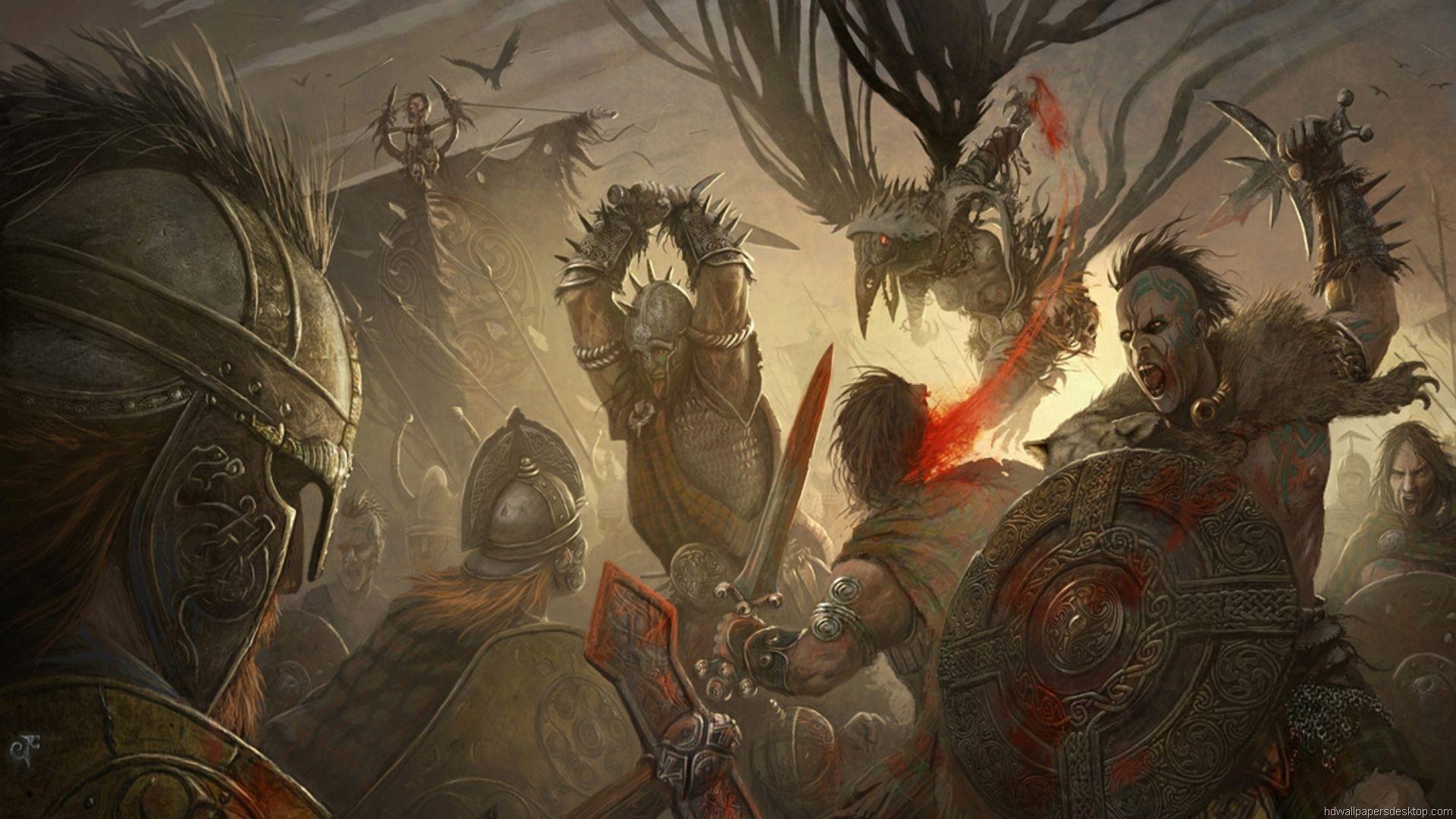 Игра Кровь и Ярость (Blood Rage)