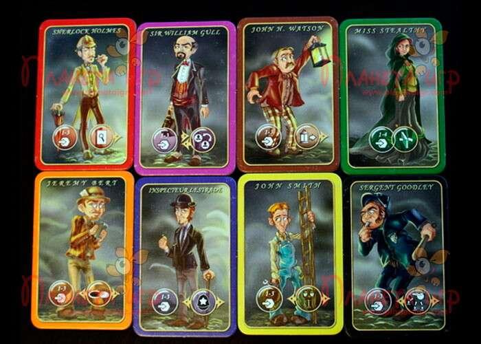 Настольная игра Мистер Джек карманный: карточки