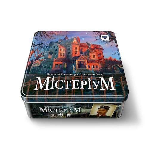 Настольная игра Мистериум и компоненты игры