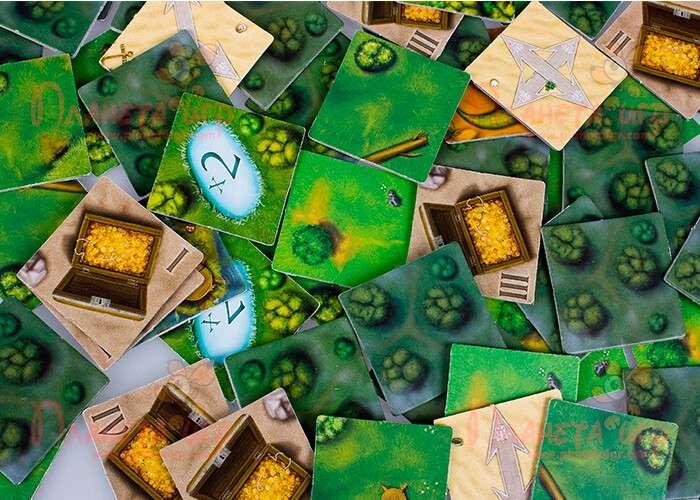 Настольная игра Шакал: карточки местности