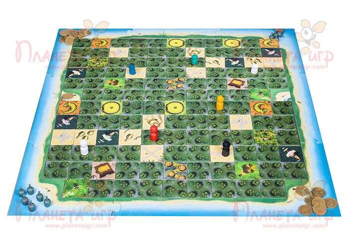 Настольная игра Шакал: Остров Сокровищ: игровое поле