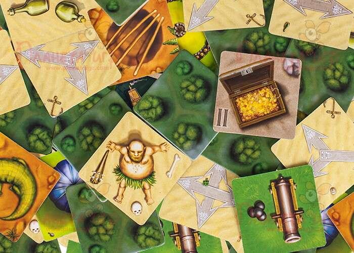 Настольная игра Шакал: Остров Сокровищ: карточки