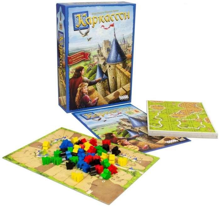 Настольная игра Каркассон и её компоненты