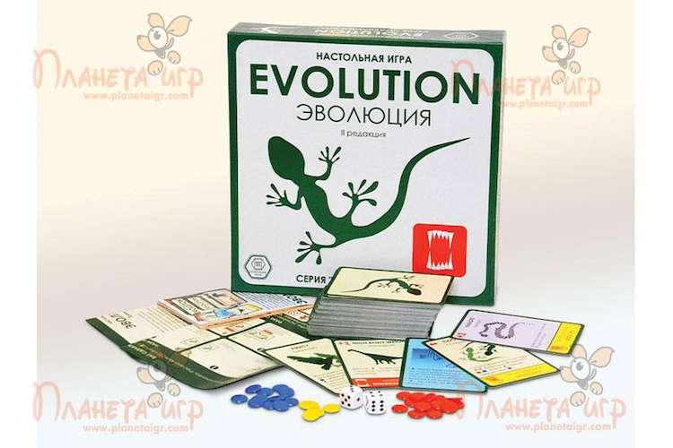 Игра Эволюция (Evolution) и компоненты игры