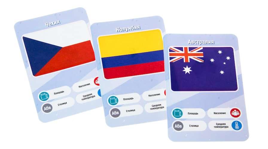 Игра Это факт! Страны: карточки
