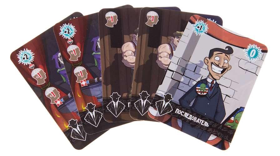 Игра Миры Ктулху (Cthulhu Realms): карточки