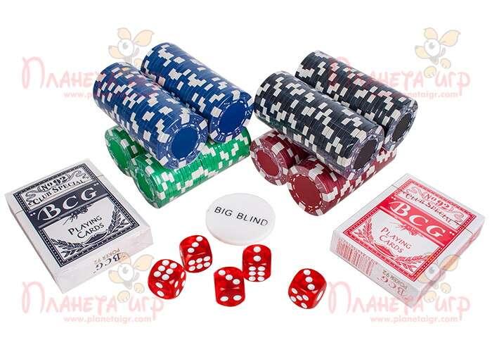 Компоненты покерного набора