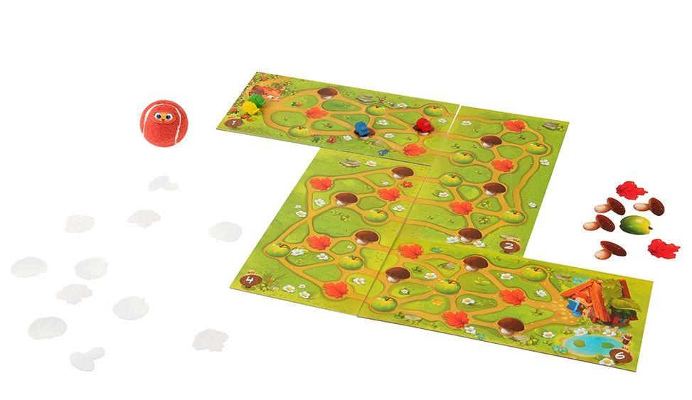 Игровое поле и компоненты игры  Перекати-ёжик