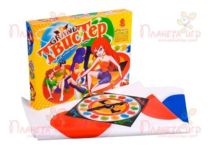 Игра Твистер Grand (Twister Grand) и компоненты игры