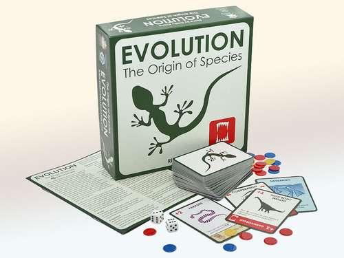 Игра Эволюция (Evolution) (англ.) и компоненты игры