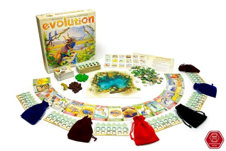 Игра Эволюция. Естественный отбор: компоненты