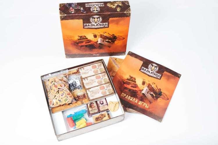 Настольная игра Badlands: Аванпост человечества