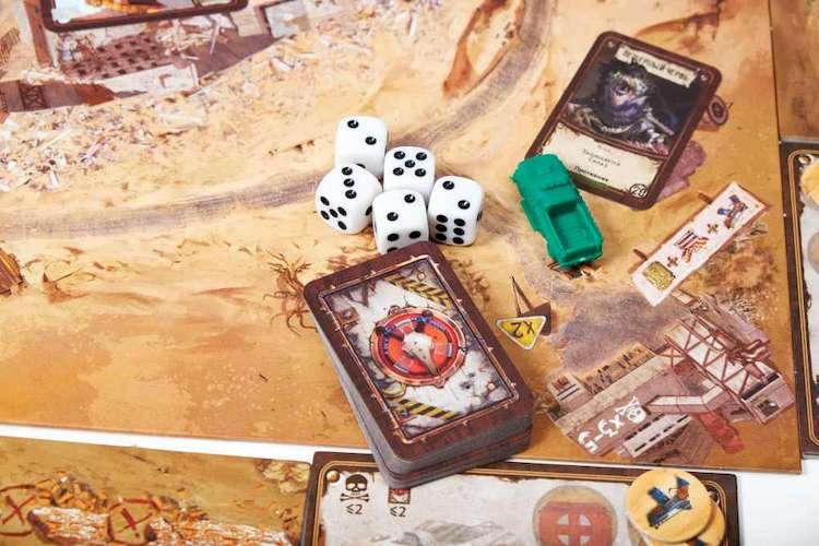 Игровой процесс настольной игры Badlands: Аванпост человечества