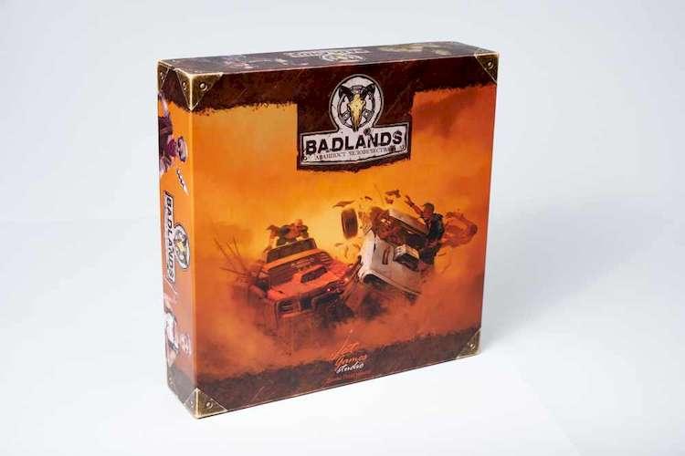Коробка настольной игры Badlands: Аванпост человечества