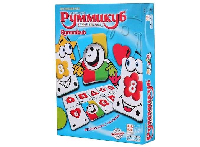 Коробка настільної гри Руммикуб. Гарний початок