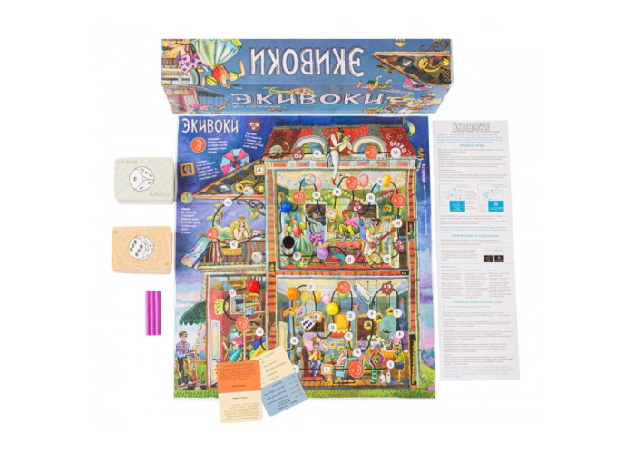 Настольная игра Экивоки: карточки