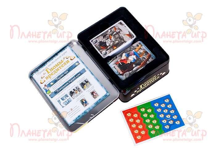 Настольная игра Гномы-вредители и компоненты игры