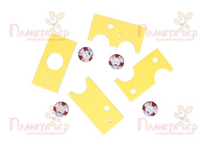 Дорожная магнитная игра «Умный сырник»: детали пазла