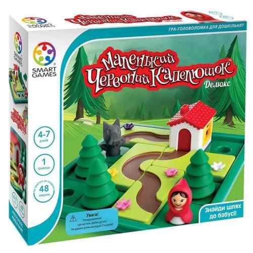 Коробка настольной игры Маленькая Красная Шапочка