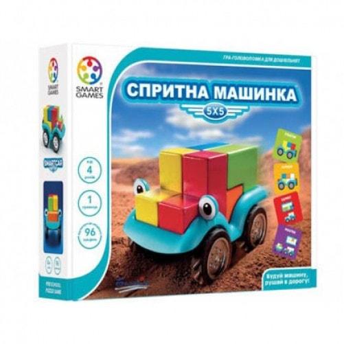Коробка настольной игры Шустрая машинка