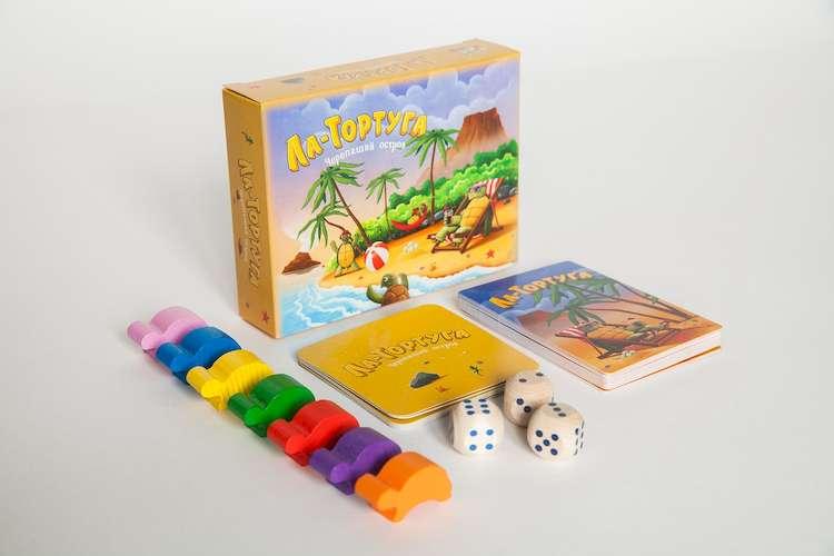 Настольная игра Ла-Тортуга. Черепаший остров (Buffet Royal)