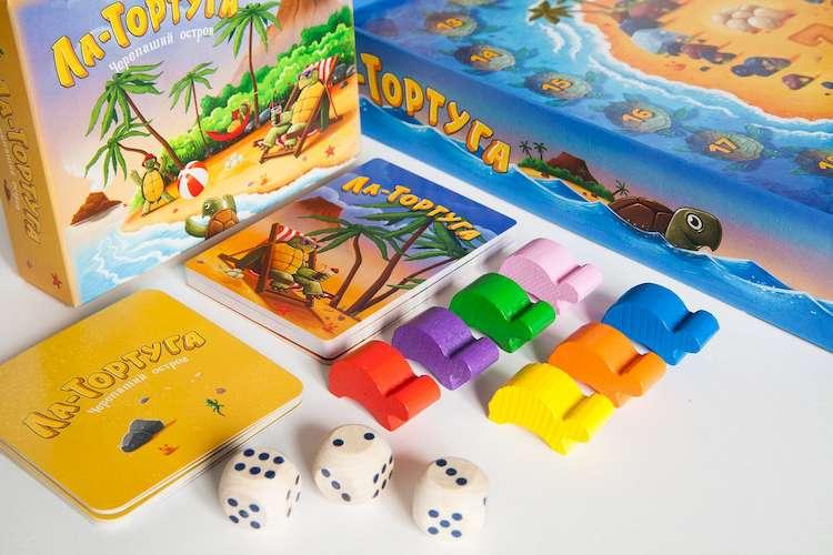 Настольная игра Ла-Тортуга. Черепаший остров: карточки