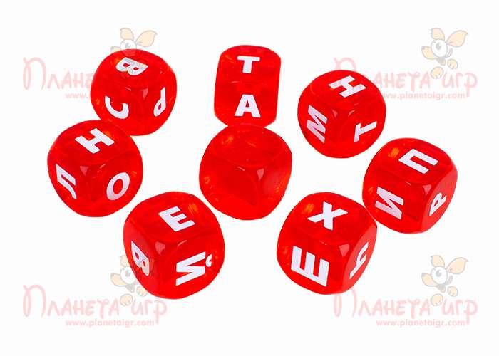 Настольная игра Алиас с кубиками: кубики