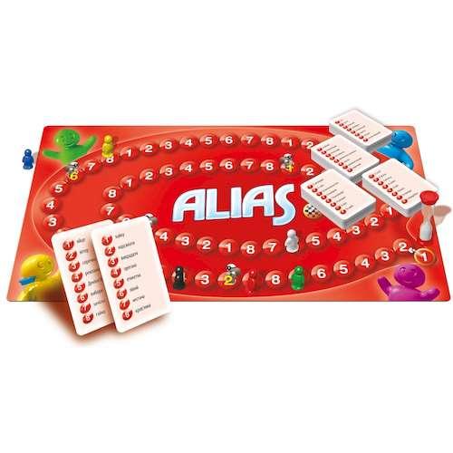 Алиас или Скажи иначе (Alias) (укр.): игровое поле и компоненты