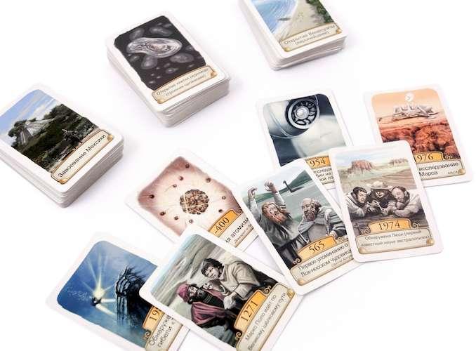 Игра Таймлайн. Наука и открытия (Timeline: Discoveries): карточки