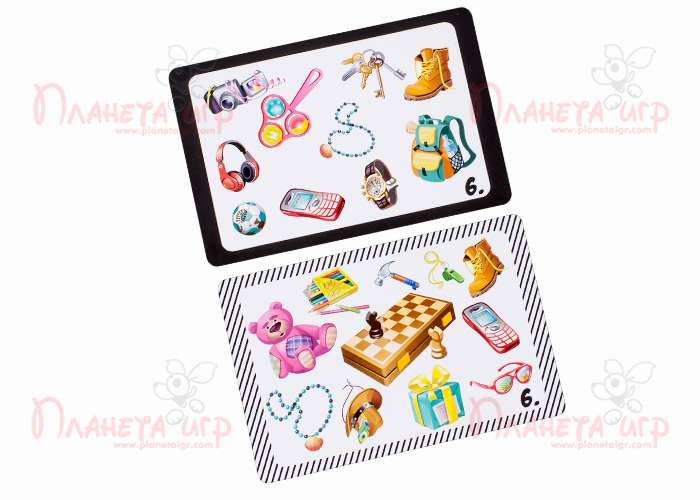 Карточки игры Бюро находок