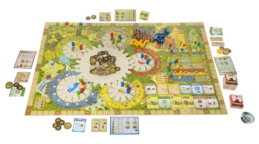 Игра Цолькин: Календарь Майя (Tzolk'in: The Mayan Calendar): карточки