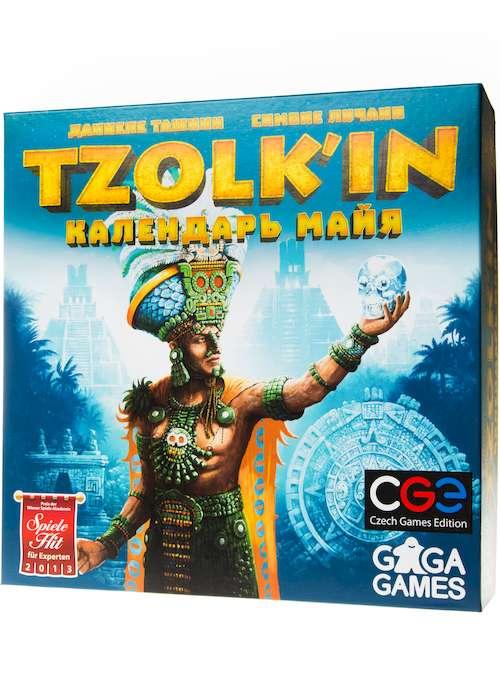 Игра Цолькин: Календарь Майя (Tzolk'in: The Mayan Calendar) (рус.)