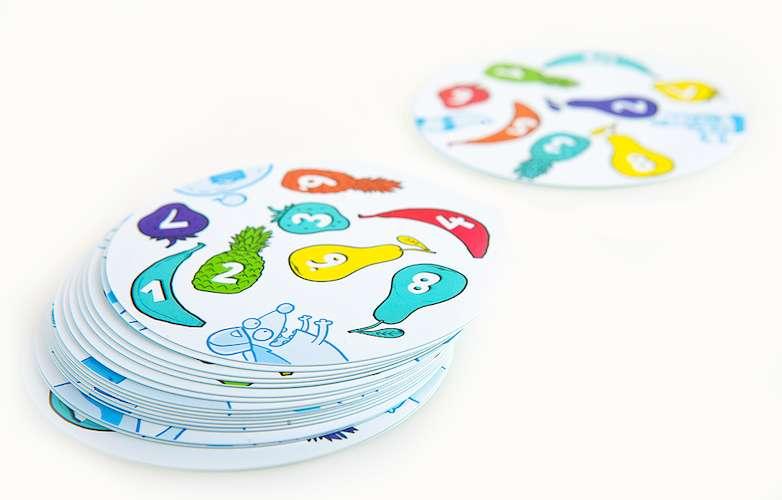 Настольная игра для детей Фрукто 10 и компоненты игры