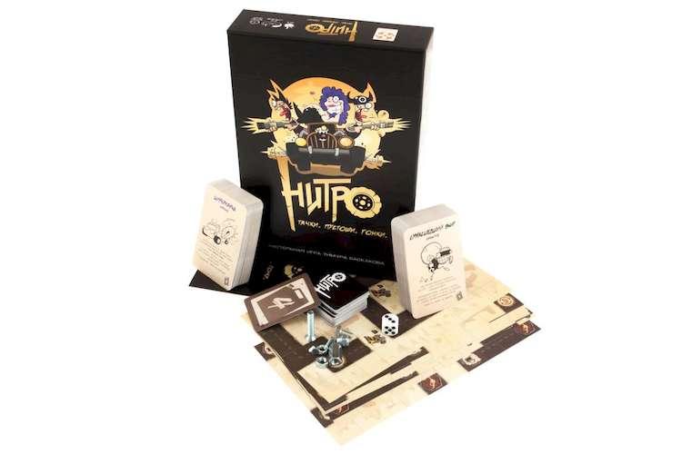Игра Нитро и компоненты игры