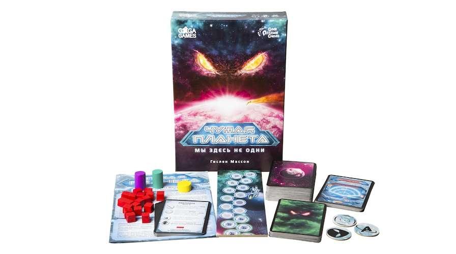 Купить настольную игру Чужая Планета (Not Alone)
