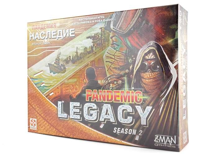 Пандемия: Наследие 2 (желтая) (Pandemic Legacy: Season 2)