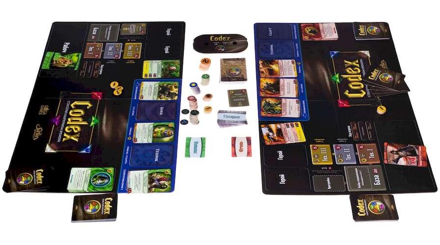 Компоненты настольной игры Codex Базовый набор