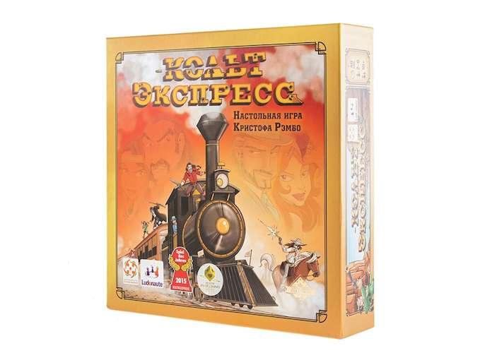 Коробка настольной игры Кольт Экспресс