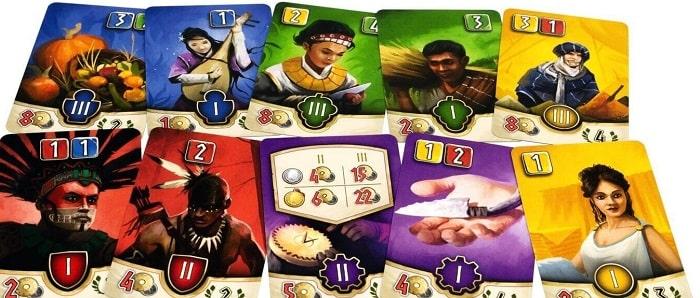 Карты игры Хадара