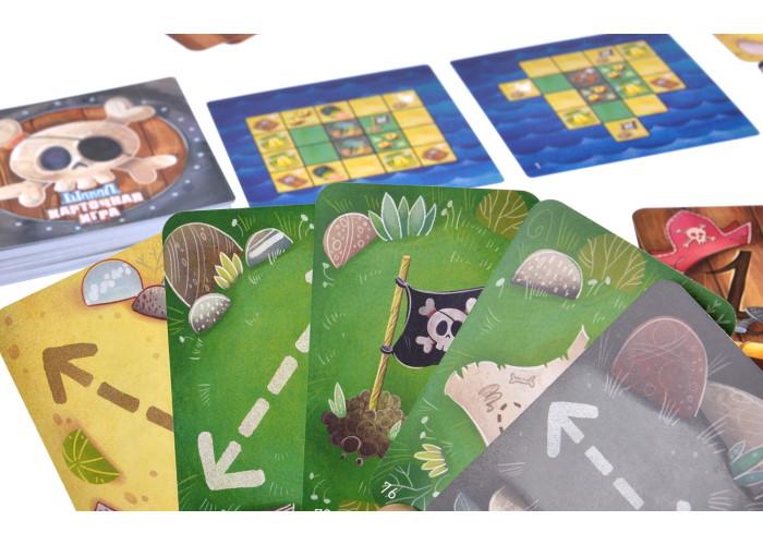 Карточная версия Шакал: Архипелаг - игровой процесс